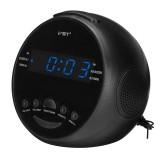 Multifunctional LED Digital Display Alarm Clock DC 5V AM/FM Dual Channel 0.6″ LED Clock Radio Alarm Clock Desktop Table Clock