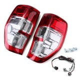 Car Rear Tail Light Assembly Brake Lamp with Wiring Harness for Ford Ranger Ute PX XL XLS XLT 2011-2018