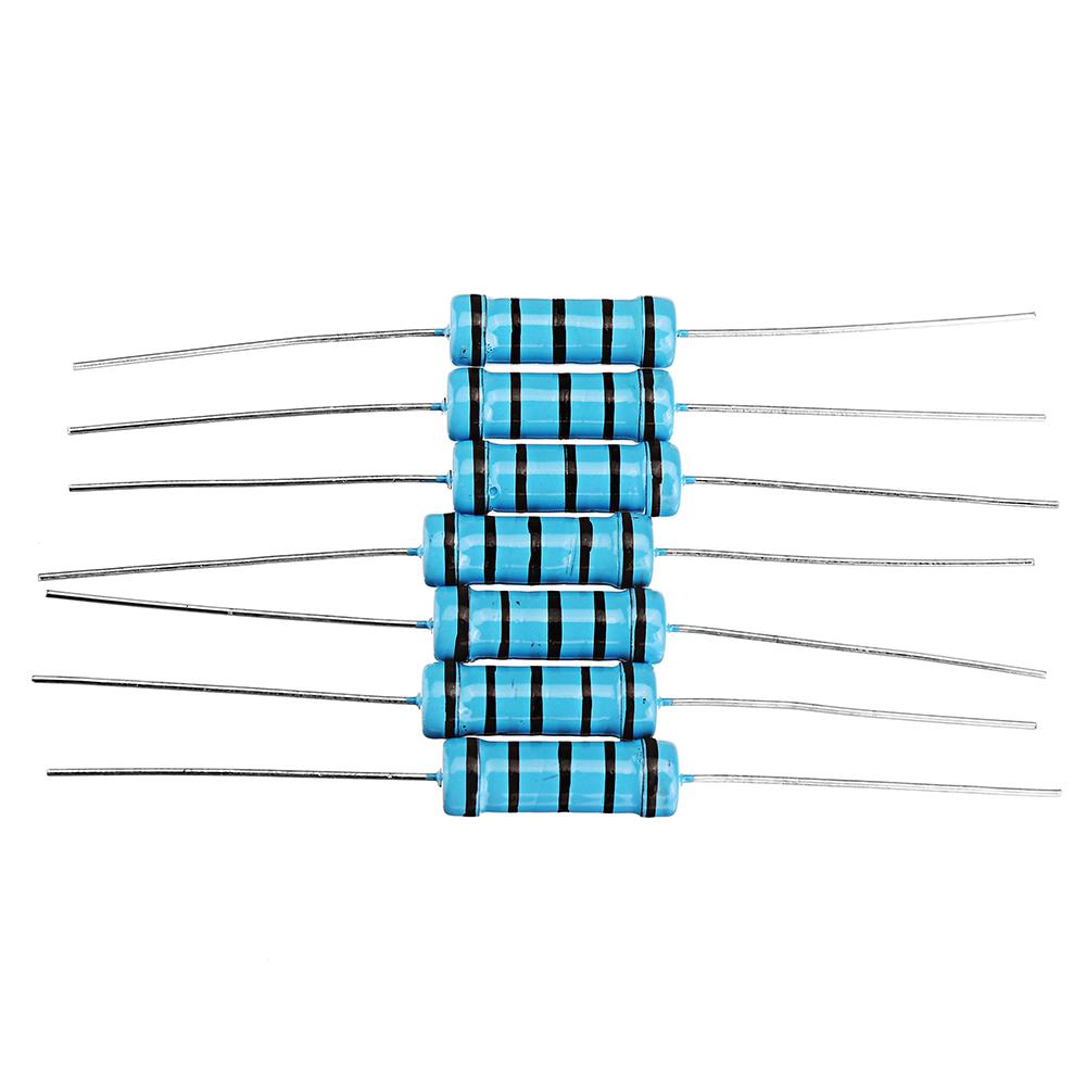 Fil Résistance metal plate 220mr 5 W 350 V 350ppm Wirewound Resistor #bp 10 pc