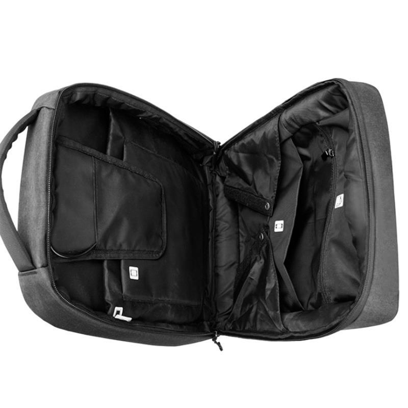 ARCTIC HUNTER 1701 18 Inch Laptop Backpack USB Charging Backpack Male Laptop Bag Mens Casual Travel Nylon Backpack School Shoulder Bag Business Backpack
