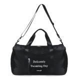 Multifunctional Gym Yoga Bag Separate Wet Dry Shoulder Bag Sports Fitness Travel Backpack