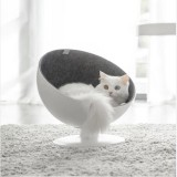 FURRYTAIL BOSS Cat Boss Fiber Spinning Pet Nest White Minimalist Interactive Pet Bed from XIAOMI YOUPIN