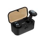 Mini TWS True Wireless bluetooth Earphone HiFi Stereo Noise Cancelling Waterproof Headphone with 800mAh Charging Box