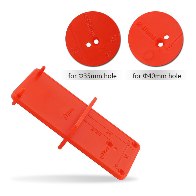 35mm 40mm Hinge Hole Drilling Guide Locator Hole Opener