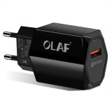 OLAF 2.4A USB Charger Quick Charge 3.0 Fast Charge 18W Portable Wall USB Power Adapter Charging for Phone
