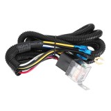 12/24V 100CM Horn Wiring Harness Relay Kit Double Speaker Harness For Car Truck
