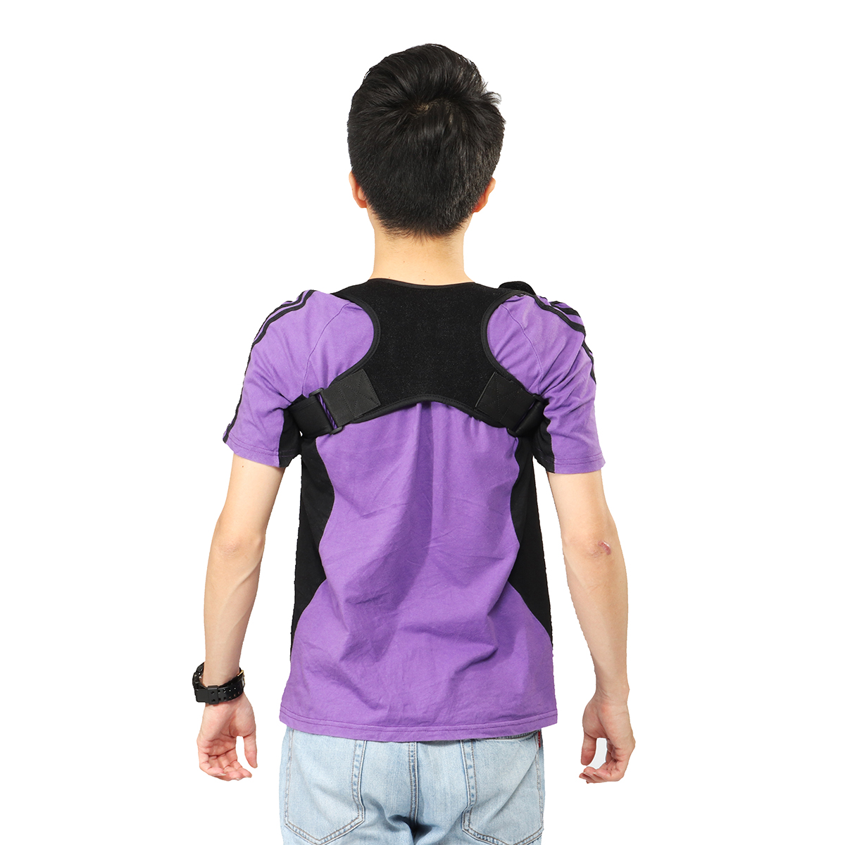 Back Brace Posture Corrector Adjustable Support Brace Lumbar Support Lower and Upper Back Pain Men and Women