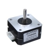 HANPOSE 17HS4223 23mm Nema 17 Stepper Motor 42 Motor 42BYGH 0.7A 14N.cm 4-lead for 3D Printer Extruder J-head Bowden Titan Extruder