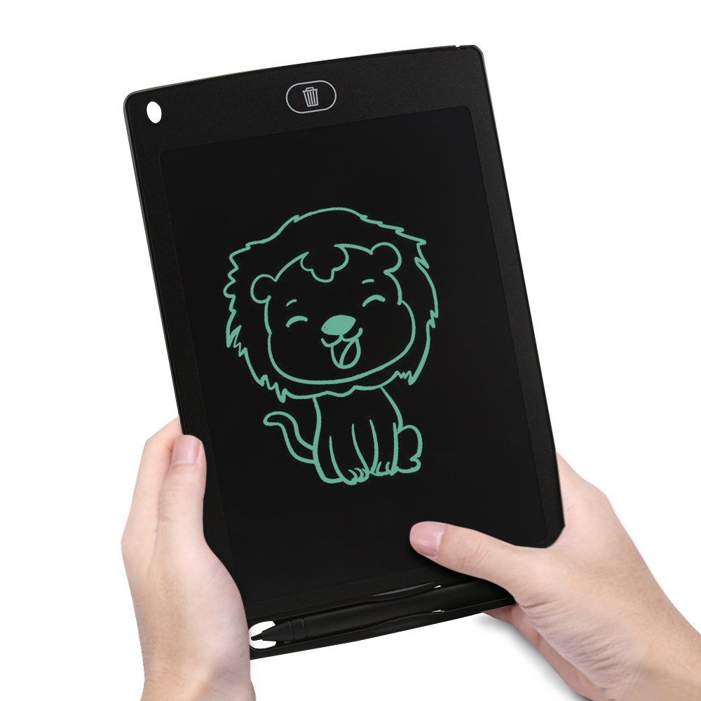 CHUYI 8.5 Inch LCD Writing Tablet Rough Handwriting Digital Drawing Tablet Electronic Handwriting Pad Message Board Slim Kids Writing Boards with Stylus
