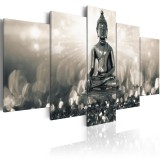 5 Panels Home Decorations Flowers Art Prints Picture Canvas Wall Unframed Paintings