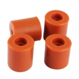 4pcs/pack 18mm*3 + 16mm*1 Silicone Shock Absorbed Heated Bed Hot Bed Leveling Column Kit For 3D Printer Parts