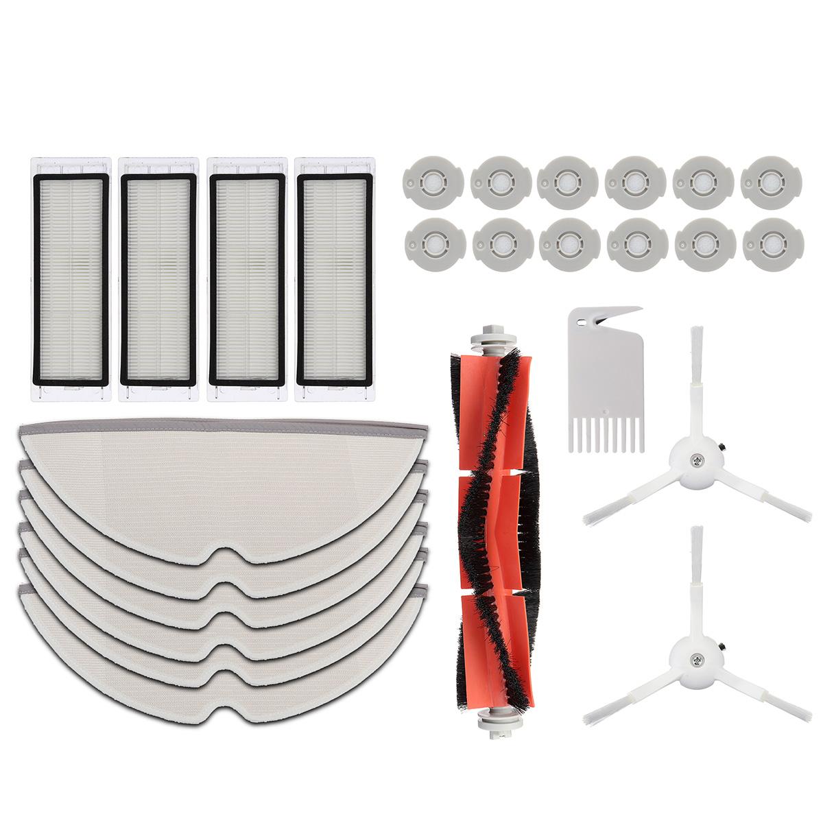 Original Main Brush+Hepa Filter+Side Brushes For Xiaomi Mi Robot Vacuum Clean ff