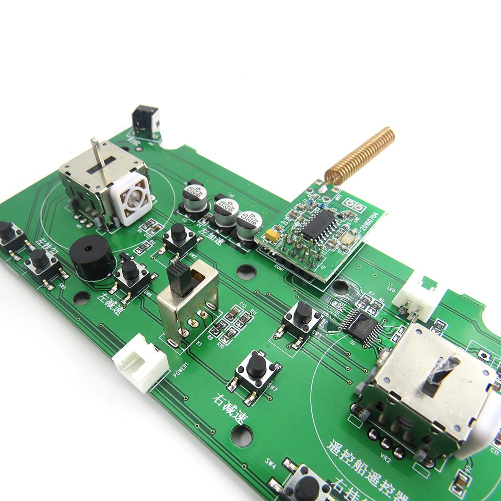 Flytec 2011-5 Generation Rc Boat Spare Parts Remote Control Circuit Board 2011-5.011