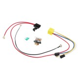 12V Dual Tone Electric Air Horn Wiring Harness Relay For Car Truck Van Train Boat Universal