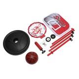 55cm-150cm Mini Adjustable Portable Basketball Hoop Net Pump Outdoor Indoor Stand
