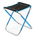 Outdoor Portable Folding Chair Aluminum Seat Stool Picnic BBQ Beach Chair Max Load 100kg