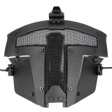 WoSporT MA-96 Outdoor Iron Warrior Hunting Tactical Face Mask Steel Mesh