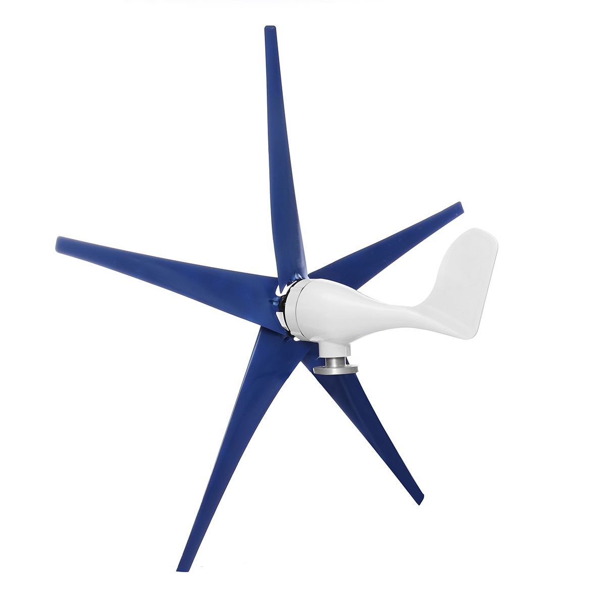620W 3/5 Blades Wind Turbine Generator Kit with Wind Charge Controller Wind Generator Power Generator Three-phase AC Permanent Magnet Generator