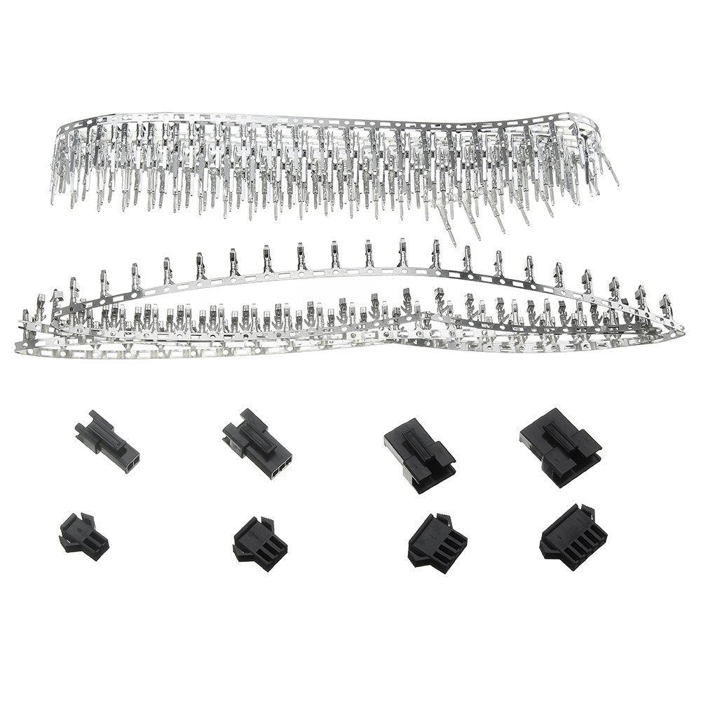 560pcs 2.54MM Pin Black Way Cable Plug Electrical Dupont Connector Pin Jumper Header Housing Male Female Wire Connector