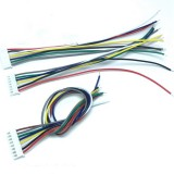 Mini Micro JST XH2.54mm 2Pin-10Pin Connector Plug Socket Wire Cable 100mm Electric Cable Connector Sockt Wires
