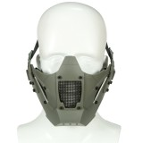 WoSporT MA-95 Module Anti-shock Tactical Half Mask Suitable For AF Helmet Riding