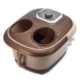 220V 500W Foot Spa Bath Oxygen Bubbles Therapy Rolling Vibration Heat Electric Massager