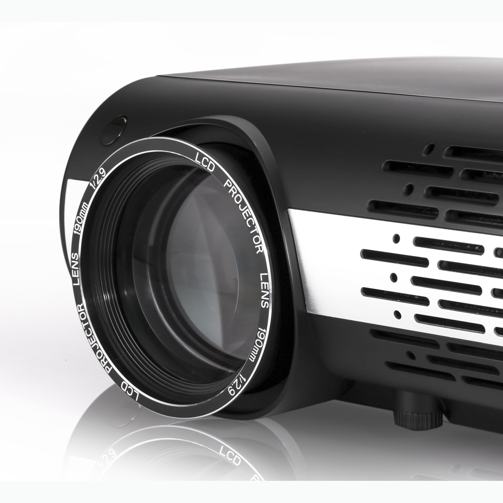 Poner Saund M2 LED Projector 4500 Lumens 1280*800 Resolution 1000:1 Contrast Ratio 1G+8G Home Theater Projector-Android Version