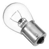 1Pcs S25 1156 BA15S 1141 Car Halogen Reverse Turn Singal lights Lamp Bulb 12V Yellow