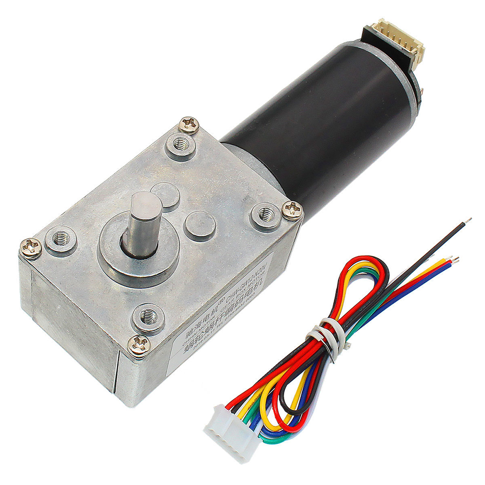 Electric Gear Motor Dual Shaft Gear Box Magnetic Reduction DC Accs Smart Robot