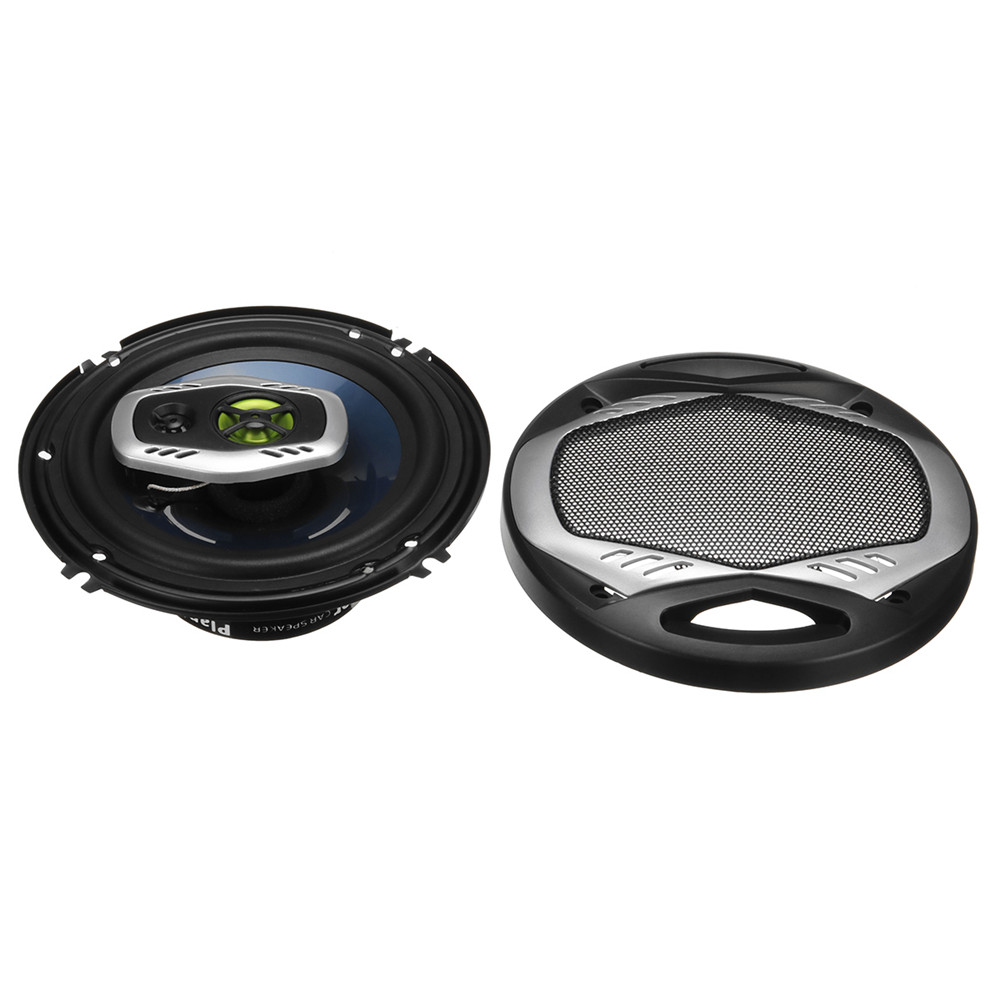Pair TS-A1683R 6Inch 600W 2-Way Car HiFi Coaxial Speakers Motorcycle Door Audio Horns