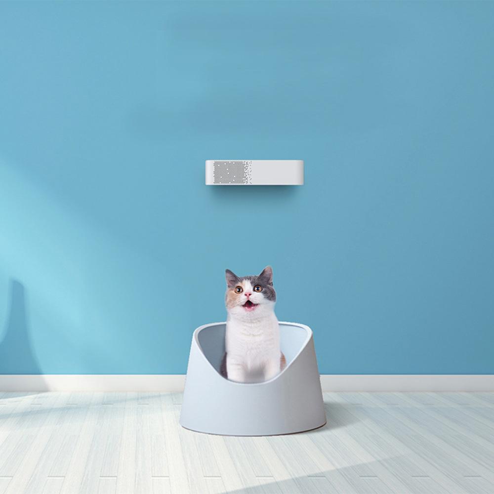Loskii Pet Purifier Cat House Pet Shop Pet Toilets Intelligent Deodorant Cleaner Air Purifier Cat Litter Deodorant