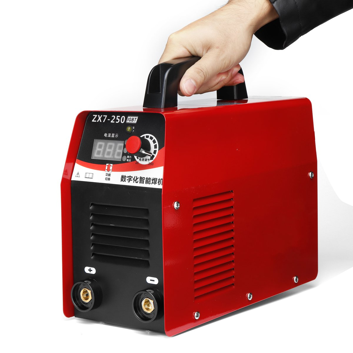 ZX7-250 220V 10-250A Electric ARC Welding Stick Welding Machine IGBT LCD Digital Display