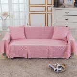 1-4 Seat Sofa Covers Couch Slipcover Cotton Blend Pet Dog Sofa Cover Protector