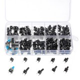 180pcs Micro-Momentary Tactile Push Button Switch Tactile Push Button Switch Micro-Momentary Tact Assortment Kit