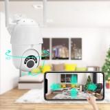 HD 1080P WIFI IP Camera Wireless PTZ ZOOM CCTV Home Security 60M IR Camera IP66 Outdoor