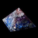 Himalayas Stone Orgone Pyramid Energy Generator Tower Home Decorations Reiki Healing Crystal