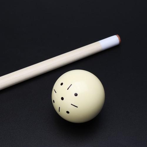 1pcs Beige Resin Billiard Spot Pool Snooker Practice Training Cue Balls 6 oz 52mm/57mm Entertainment Sports For Beginner for Rack