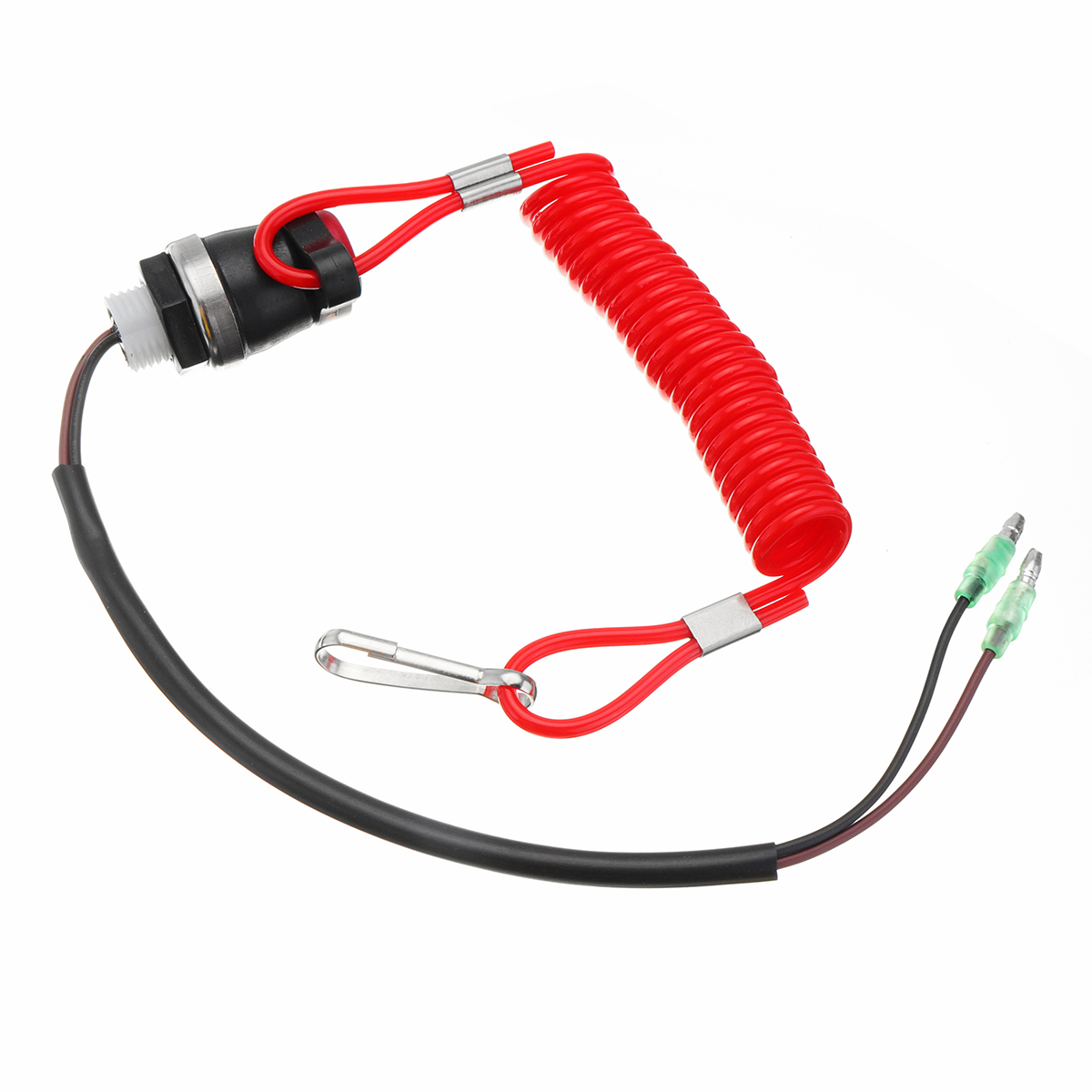 Boat Kill Switch Tether Cord Lanyard Red For Marine Mercury Tohatsu Outboard Engine