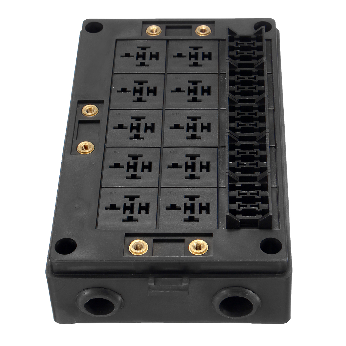18-Way Fuse Relay Box Holder Block Circuit Protector Terminals Replacement  Part for Automotive Marine | Alexnld.com | Relay Holder Fuse Box Terminals |  | Alexnld.com