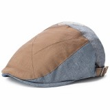 Men Women Cotton Vogue Beret Caps Duck Hat Sunshade Casual Outdoors Peaked Forward Cap