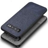 Bakeey Cotton Cloth Protective Case For Samsung Galaxy S10e/S10/S10 Plus  Anti Fingerprint Back Cover