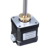 HANPOSE 17HS4401-S T8x8 Nema 17 Lead Screw Stepper Motor Linear Actuators 40mm 1.7A 40N.cm 4-lead 42 Motor 100-500mm Trapezoidal Lead Screw for 3D printer Z Axis