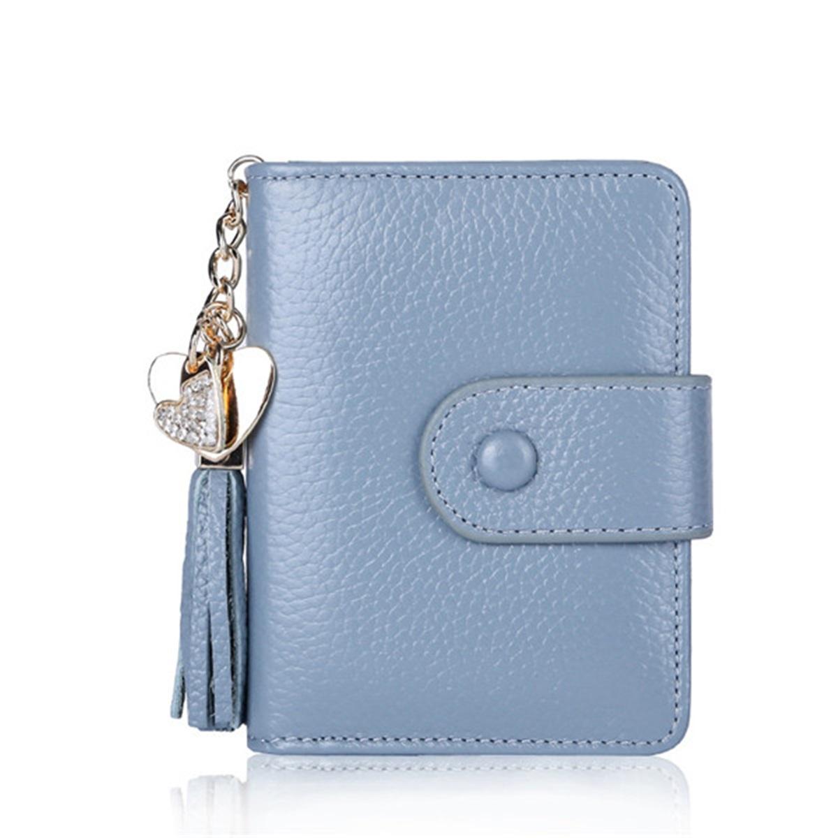 Women Genuine Leather Wallet ID Credit Card Holder Bag Passport Purse Outdoor Travel