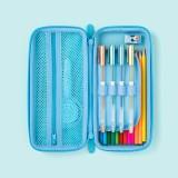 XIAOMI XPWJ1000 Cute 3D Dinosaur Pencil Case Large Capacity Pensil Bag Zipper Pencil case Students Stationery Office School Supplies for Girls Boys
