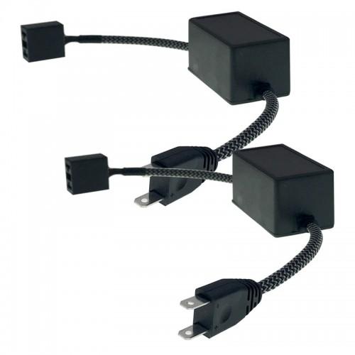 M7 H7 LED Car Headlight Decoder HID Canbus Error Free Anti Flicker Resistor Canceler 9-32V 2PCS