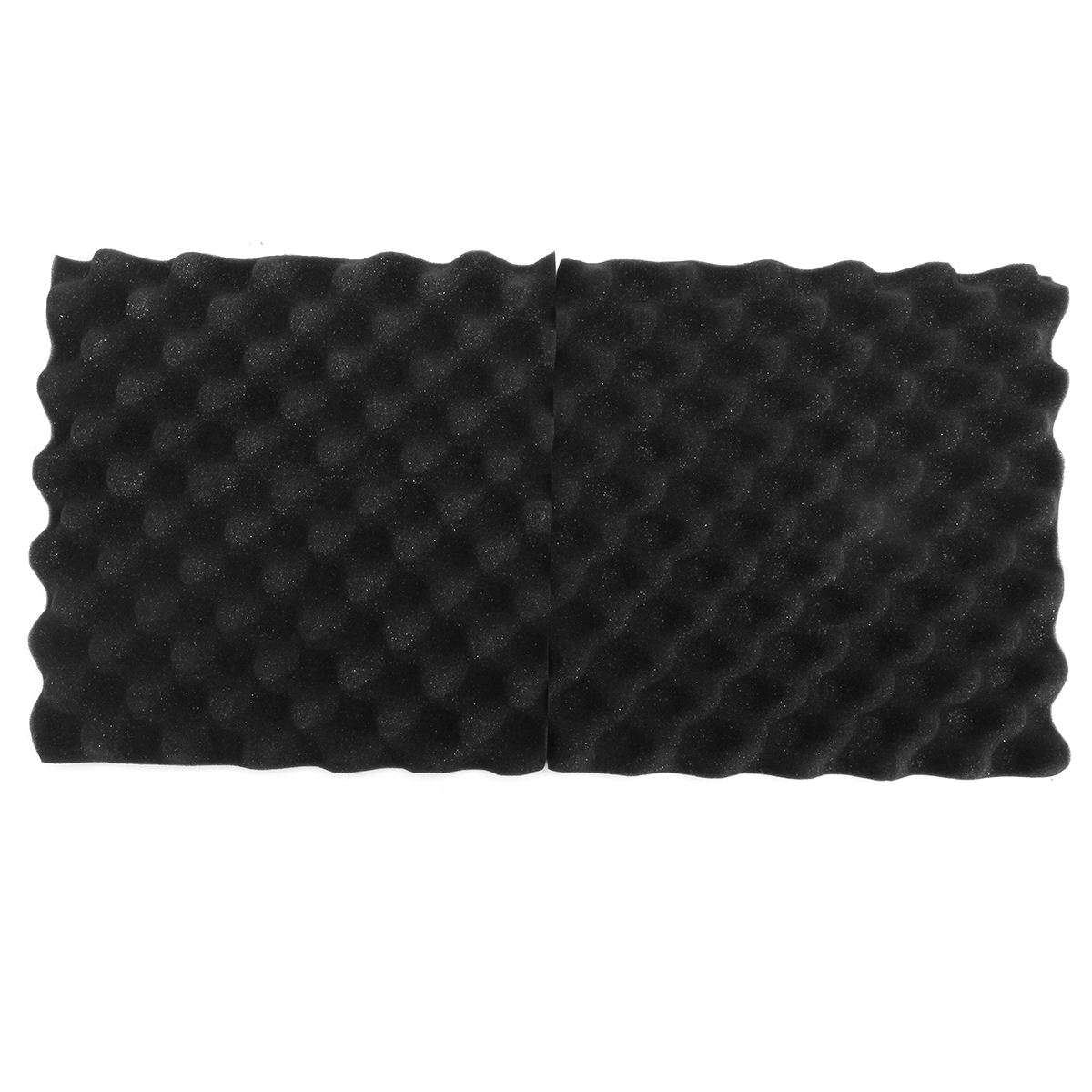24Pcs Acoustic Sound Treatment Convoluted Egg Profile Foam Panels Soundproofing Foam