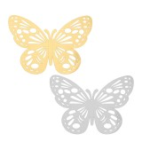 12Pcs 3D Butterfly Wall Sticker Home Decor DIY Butterfly Fridge Sticker Party Wedding Room Decor