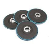 40/60/80/120 Grit Grinding Wheel Flap Disc 115mm Angle Grinder Sanding Tool