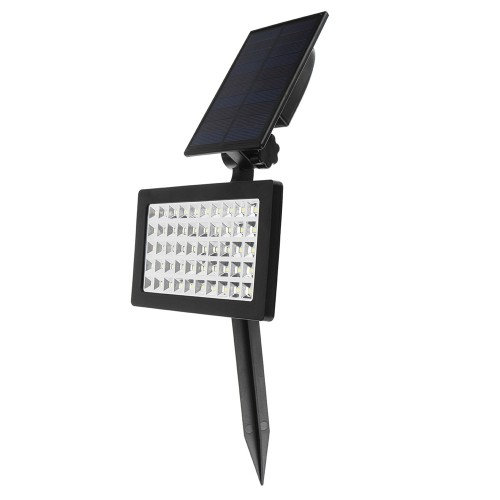 Solar Power 50 LED Light Control Lamp Outdoor Waterproof for Outdoor Garden Landscape Lawn Yard