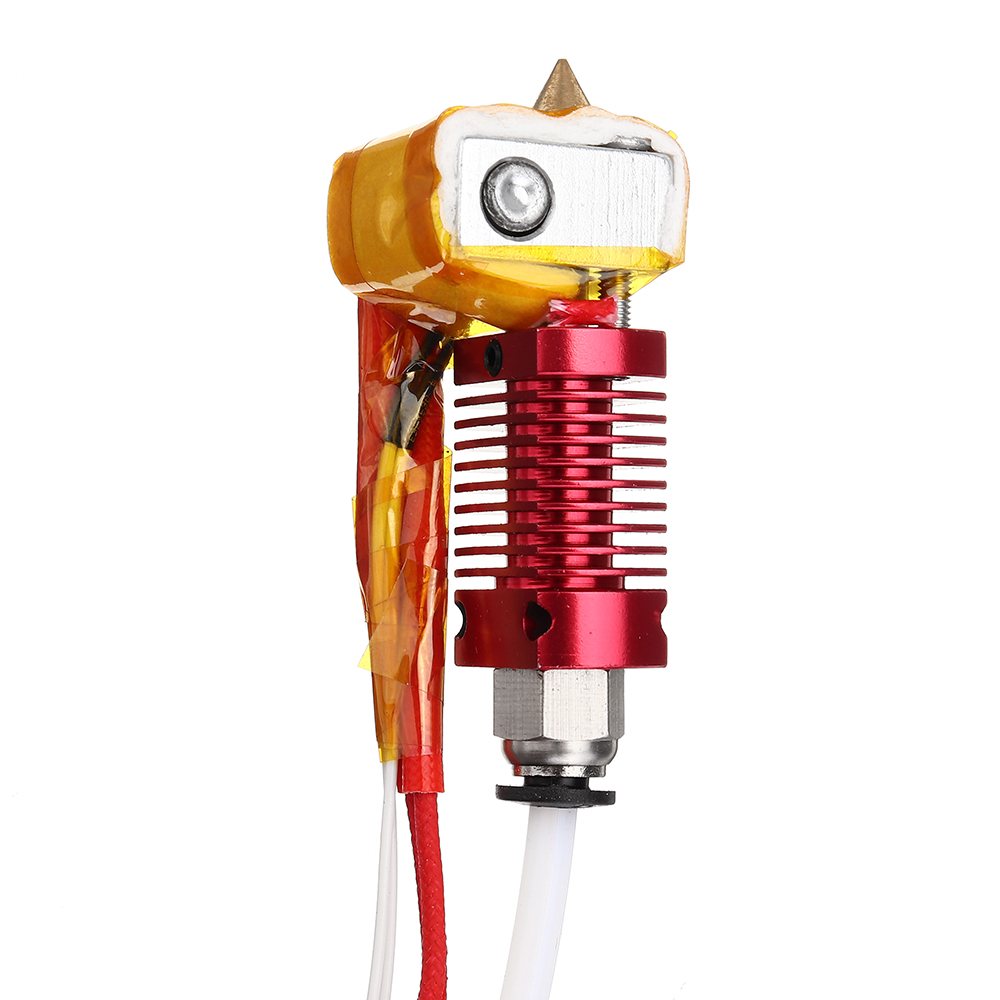 12V / 24V 40W MK8 Extruder Hot End Kit 1.75mm 0.4mm Nozzle For Creality 3D CR-10 3D Printer